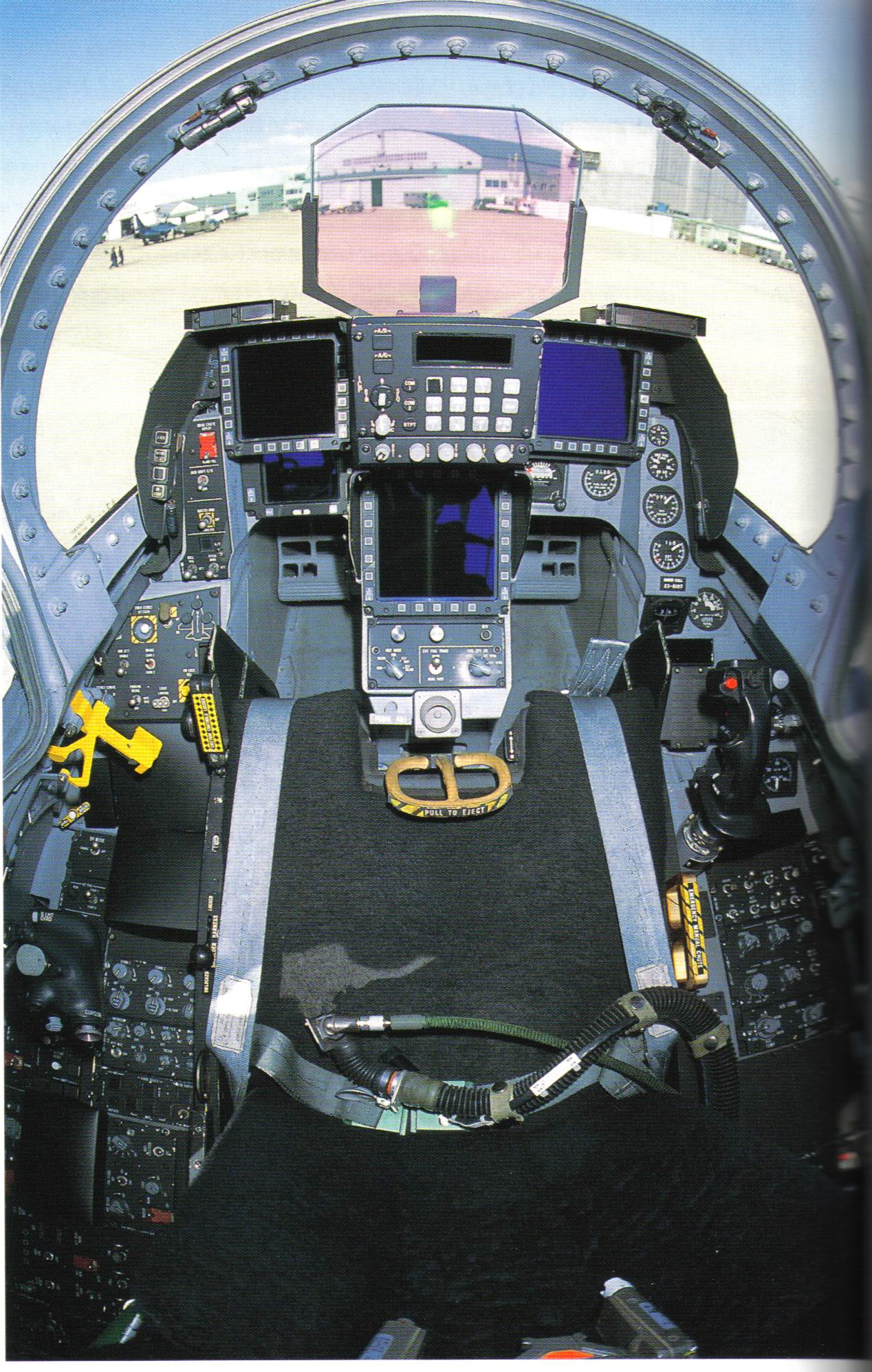 F-16 cockpit pictures - F-16 Design & Construction
