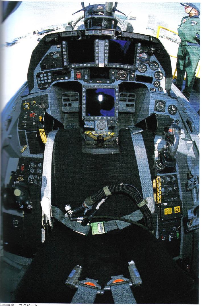 F-16 Cockpit Pictures - F-16 Design & Construction