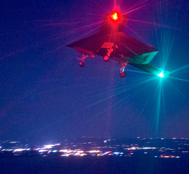 X 47b At Night F-35 and X-47B - F-35 ...