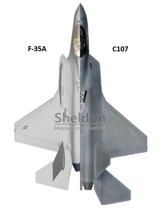 F-35A vs KF-X - F-35 versus XYZ