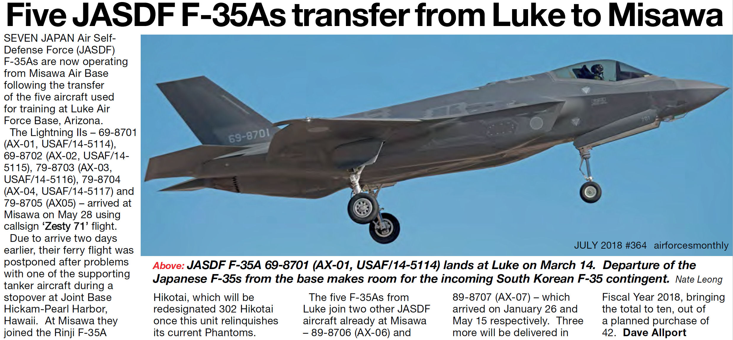 JASDF may be in the market for more F-35s - Program and politics
