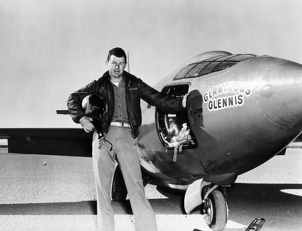 interview with general chuck yeager. Black Bedroom Furniture Sets. Home Design Ideas
