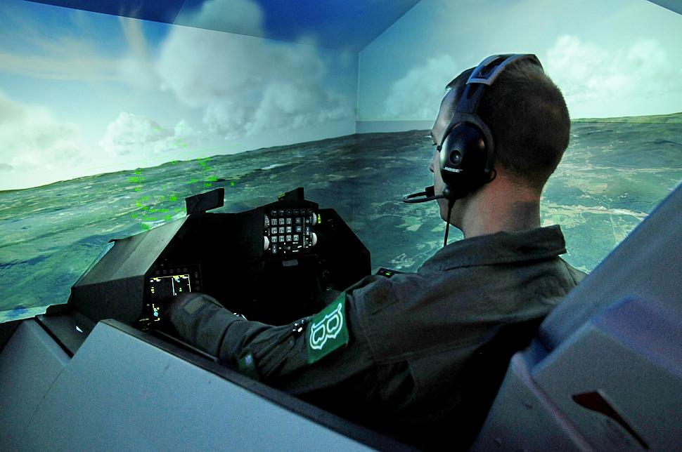 Nellis to receive firs...C 130 Simulator