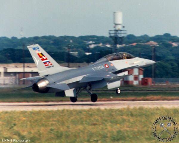 F-16 Versions - F-16 MLU on