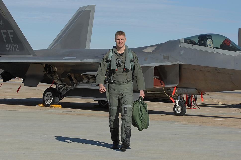 149th FS pilot named top Weapons School graduate Usaf Fighter Pilot F 22