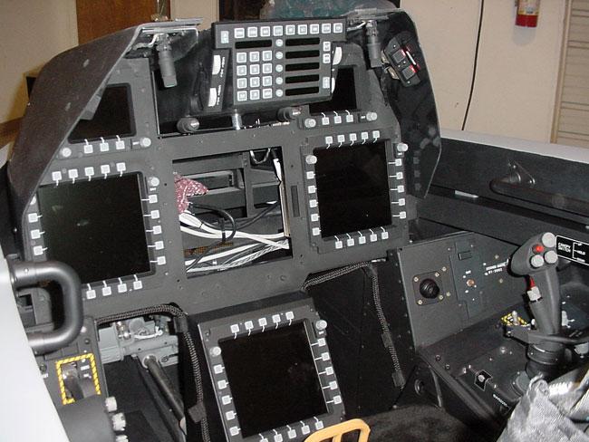 F-22 full mission cockpit trainer jpg photos | F-16 net