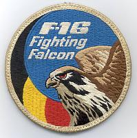 Belgian Air Force F-16 Patches