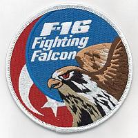 Turkish Air Force F-16 Patches