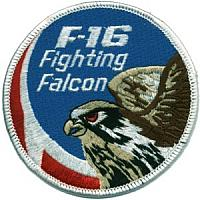 Royal Danish Air Force F-16 Patches