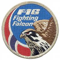 Royal Norwegian Air Force F-16 Patches