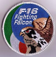 Italian Air Force F-16 Patches
