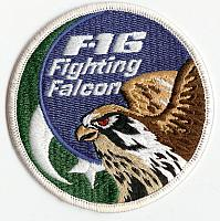 Asian Air Forces F-16 Patches
