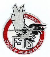 RSAF Exercise patches