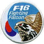 Republic of Korea Air Force F-16 Patches