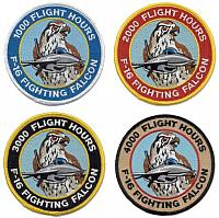 F-16 Pilot Tags and Patches