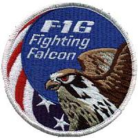United States F-16 Patches