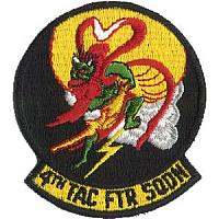 US Air Force F-16 Patches