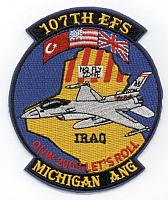 US Air National Guard F-16 Patches