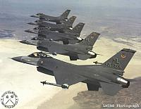 US Air Force - ACC F-16s
