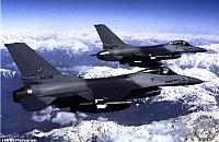 F-16s by Air Force - Asian Air Forces